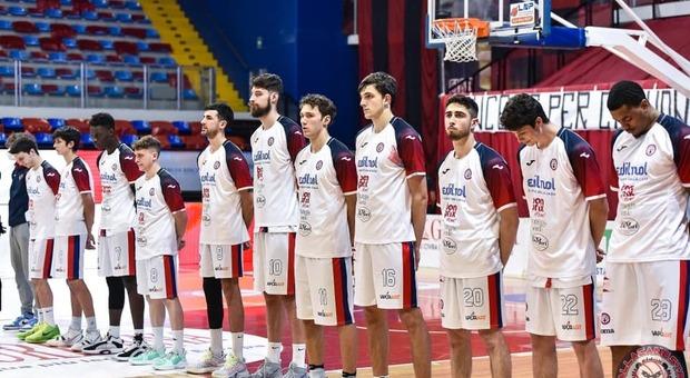 La squadra di Biella (Laura Malvarosa SPORT & DOGS photo da pagina facebook Pallacanestro Biella)