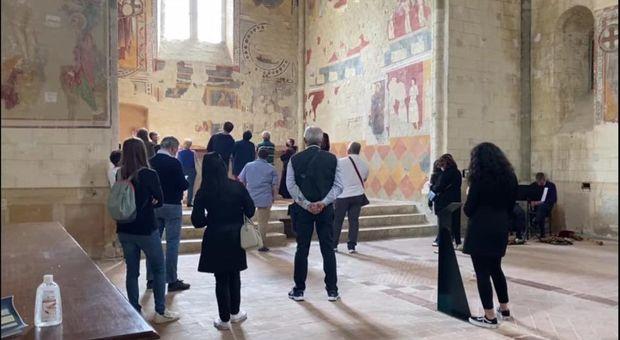 Musei, quasi cento in fila per chiesa di San Bevignate