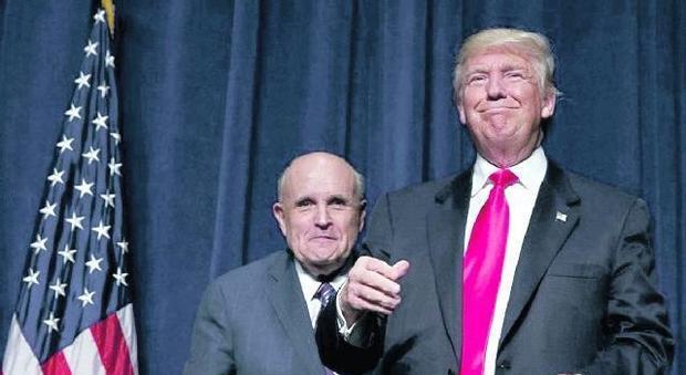 I ministri di Trump: Giuliani agli Esteri è la prima grana tra i repubblicani
