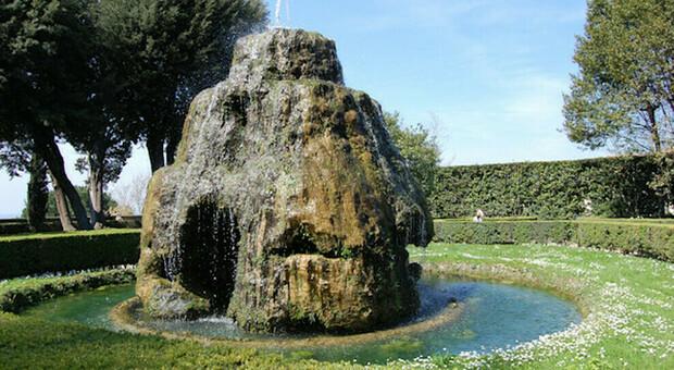 Villa d'Este, dalle fontane riemergono i mosaici del '500. Il direttore Bruciati: «Dovevano stupire»