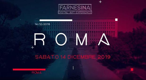 Palazzo della Farnesina si trasforma per una sera con uno spettacolo di videomapping