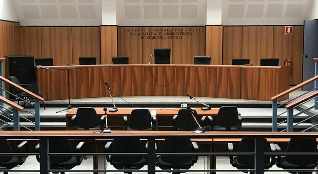 L'aula di Corte d'Assise