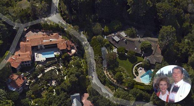 L'ex villa di Ronald e Nancy Reagan venduta per quindici milioni di dollari