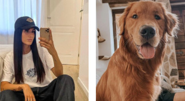 Valentina Vignali, l'appello su Instagram: «Ho perso il mio cane, aiutatemi a ritrovarlo»