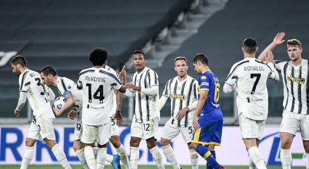 Juve, scatto Champions firmato Alex Sandro: Parma sprofonda verso la B