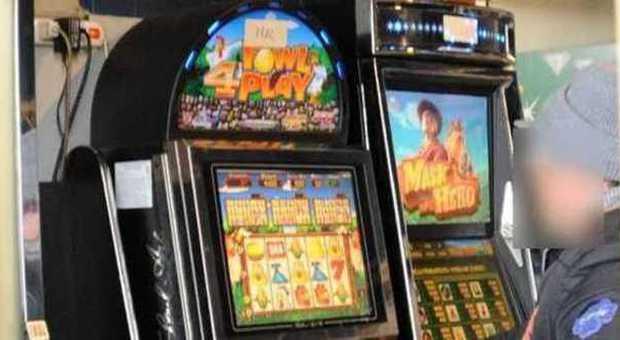 Citta usa con slot machine dappertutto