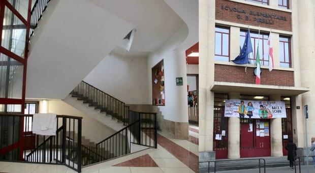 Morto il bambino precipitato nella tromba delle scale a scuola: indagini per omicidio colposo