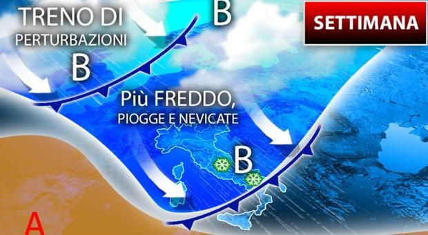 Meteo, allerta maltempo: scuole chiuse domani a Napoli, Pozzuoli e in alcune città toscane