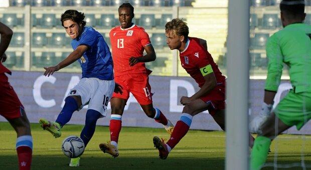 Italia-Lussemburgo 3-0: gli azzurrini iniziano con una vittoria il cammino per gli Europei del 2023