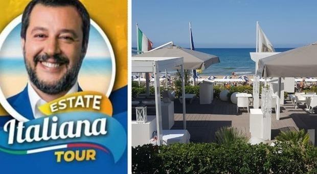 Rischio crisi, Salvini annulla le tappe del beach tour a Sabaudia e Anzio. La battuta ai suoi: «Non andate in ferie»