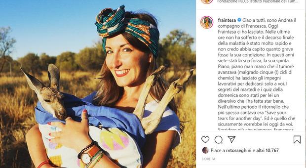 Fraintesa, è morta a 38 anni la travel blogger che affrontava la battaglia contro il cancro con il sorriso