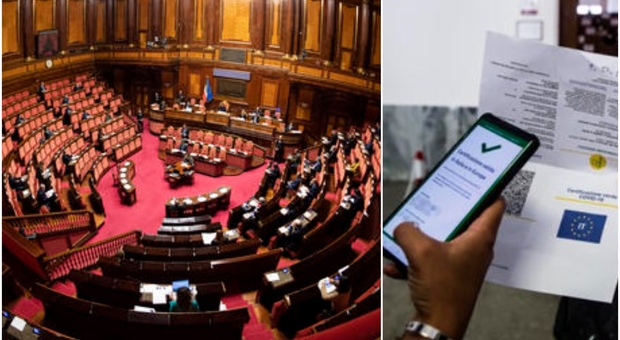 Green pass obbligatorio a scuole e sui trasporti, via libera del Senato: assenti 19 leghisti