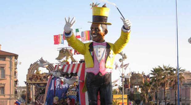 Carnevale di viareggio da renzi a letta i politici salgono sul carro
