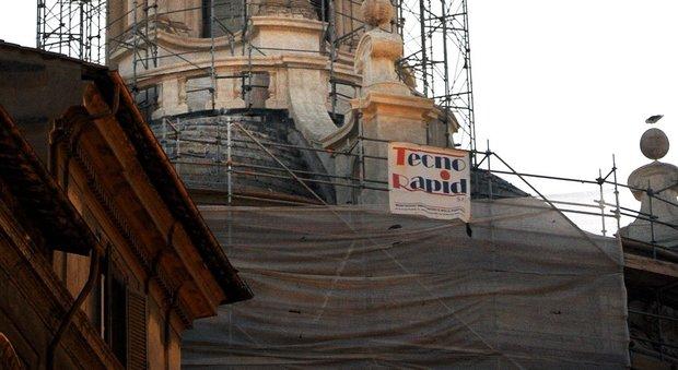 Danni a Roma in un palazzo in Viale del Vignola per il terremoto