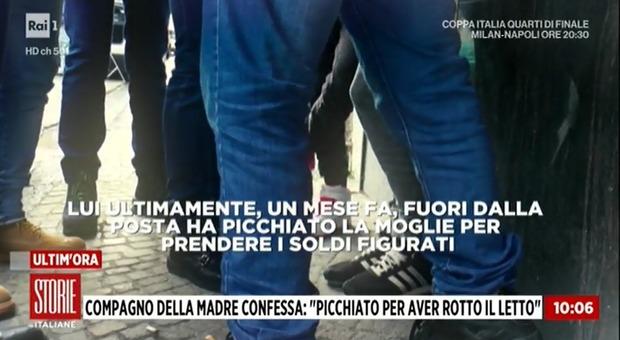 Bimbo ucciso a Cardito, un testimone: «Tony picchiava anche la moglie»