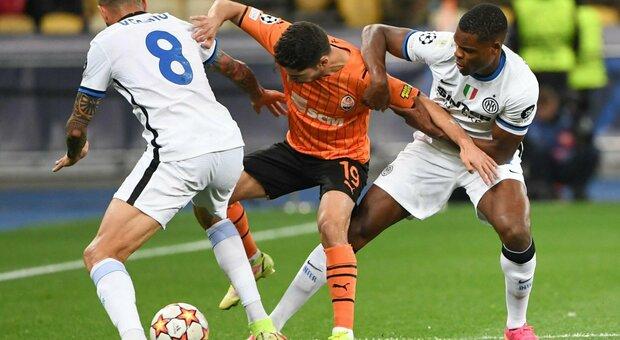 Diretta Shakhtar Donetsk-Inter live