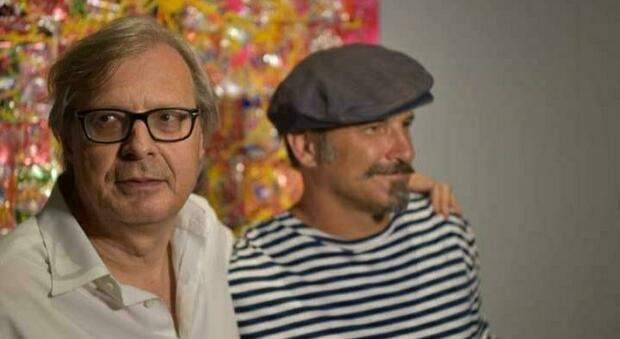 Vittorio Sgarbi e Fabio Ferrone Viola_credits Courtesy of Press Office