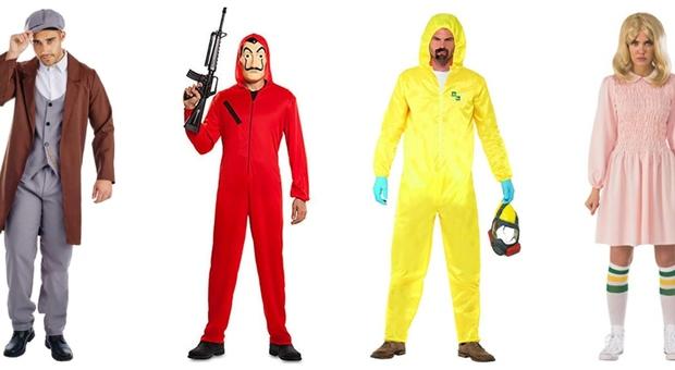 """Carnevale, i costumi delle serie tv su Amazon: dalla """"Casa di Carta"""" a """"Peaky Blinders"""""""