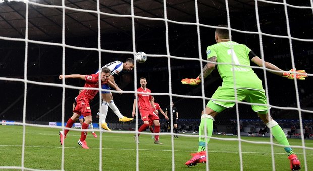 Bundesliga, all'Hertha il derby di Berlino: Union travolto 4-0
