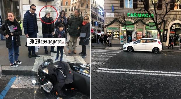 Luca Zingaretti investito da un'auto mentre era in scooter a Roma: Montalbano sta bene