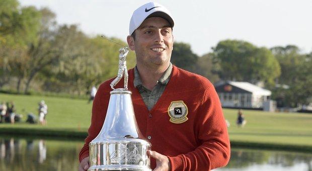Golf, rimonta di Francesco Molinari e trionfo nell'Arnold Palmer