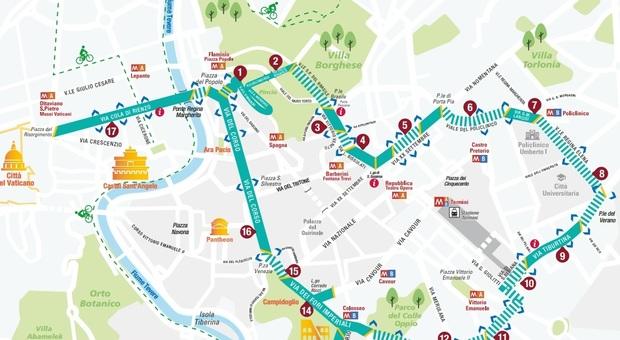 Roma, torna #vialibera: ecco il percorso ciclo-pedonale per riscoprire la città