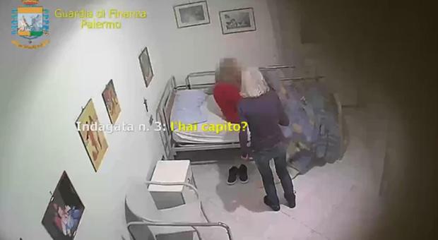 Palermo, casa di riposo lager sequestrata: 6 donne arrestate. Anziani picchiati: «Se ti muovi ti rompo una gamba»