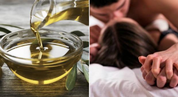 Sesso, olio d'oliva meglio del viagra: ecco quanti cucchiai assumere