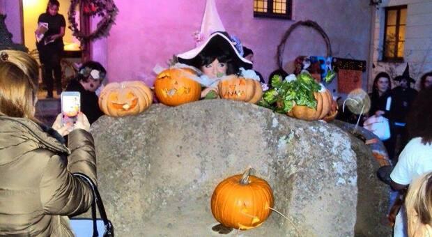 Calcata festeggia Halloween
