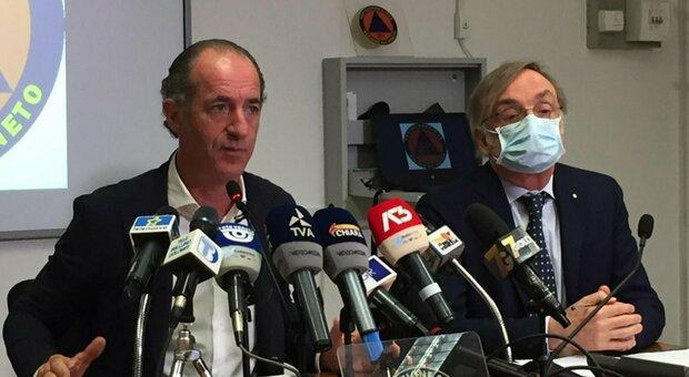 Luca Zaia: «In Veneto sperimentiamo il vaccino. Senza centri migranti non avremmo focolai»
