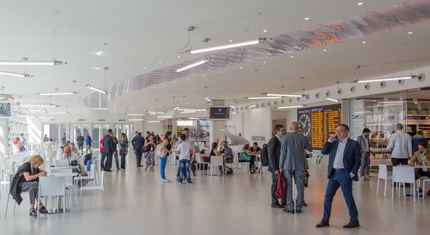 Roma Inaugurata La Nuova Terrazza Della Stazione Termini