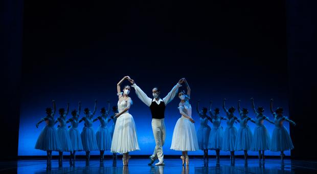E una sera Chopin, coreografie di Giorgio Mancini
