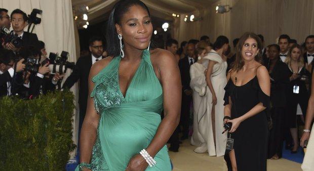 Serena Williams è diventata mamma a 36 anni di una bambina