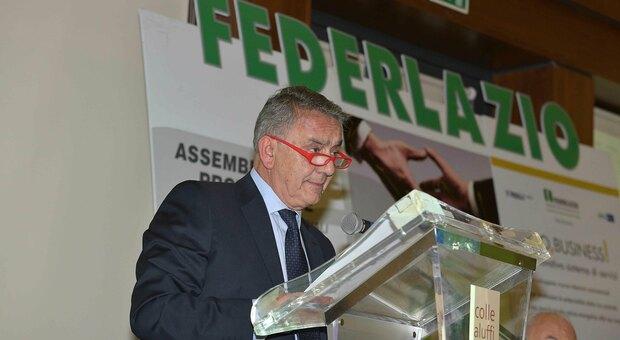Riccardo Bianchi, ex presidente di Federlazio Rieti