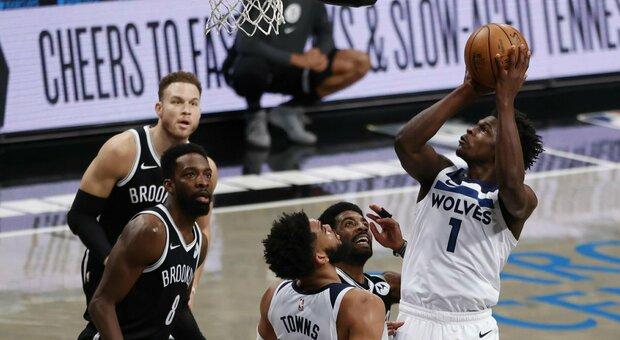 Nba, muore afroamericano, rinviata la sfida tra Minnesota Timberwolves ed i Brooklyn Nets