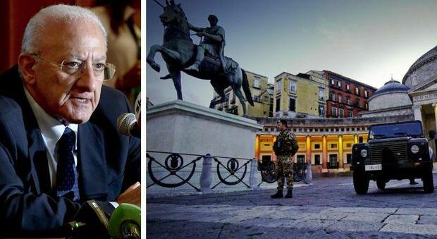 De Luca: «Governo vada a casa, genera caos». Di Maio: le sue sceneggiate le pagano i campani