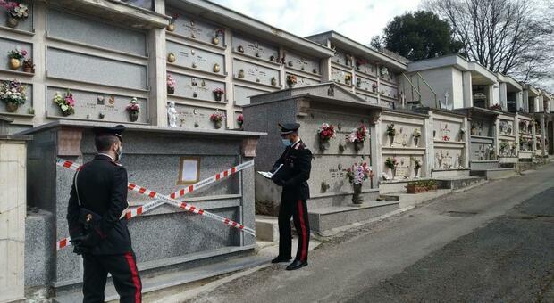 Il sequestro da parte dei carabinieri