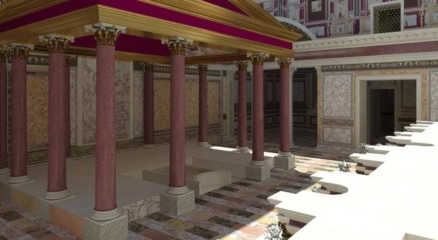 Roma, torna alla luce la casa segreta di Nerone sul Palatino