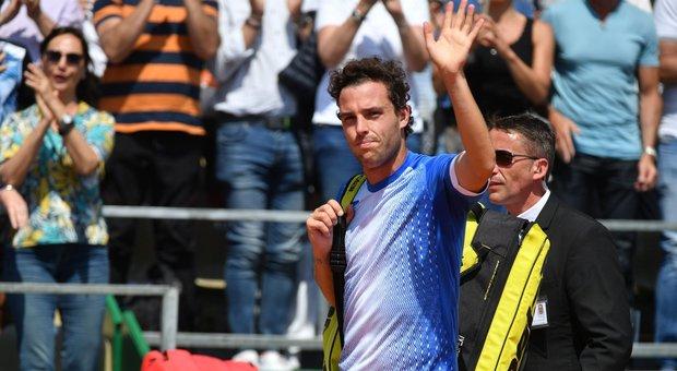 Monaco, doppietta azzurra: Cecchinato e Berrettini in semifinale