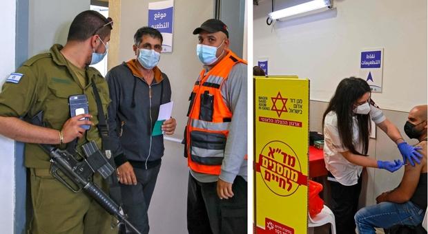 Covid, l'esercito israeliano ha raggiunto l'immunità di gregge: «Siamo i primi al mondo»