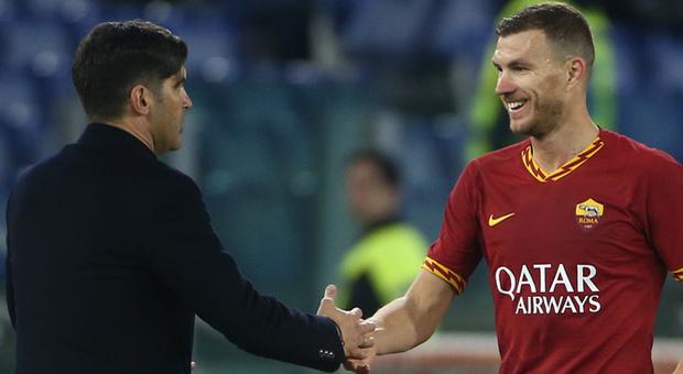 Edin Dzeko è stato il migliore in campo in Roma-Lecce: show dei giallorossi, chi ha messo il bosniaco al Fanta sorride