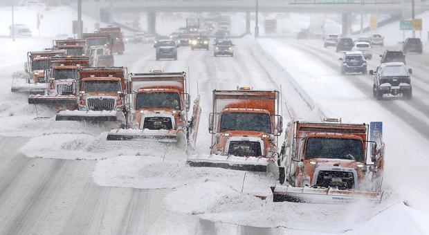 Stati Uniti è freddo record: - 50 gradi! Trasporti bloccati e scuole chiuse