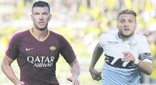 Roma-Lazio 3-1: Pellegrini, Kolarov e Fazio regalano il derby ai giallorossi