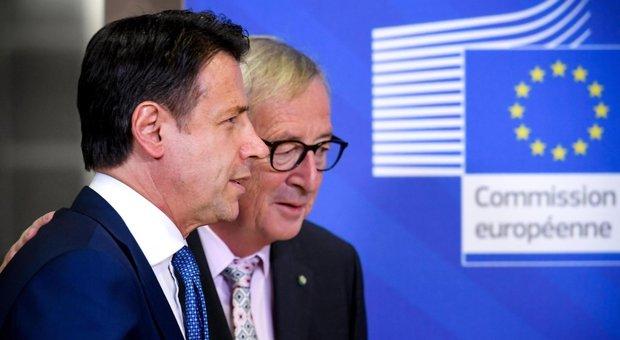 Manovra: Conte presenta la risposta a Juncker, deficit ridotto addirittura al 2%