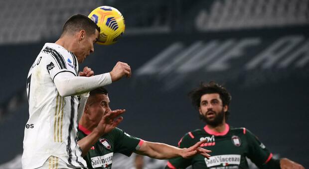 Pagelle Juve-Crotone, Ronaldo superstar, Kulusevski stecca