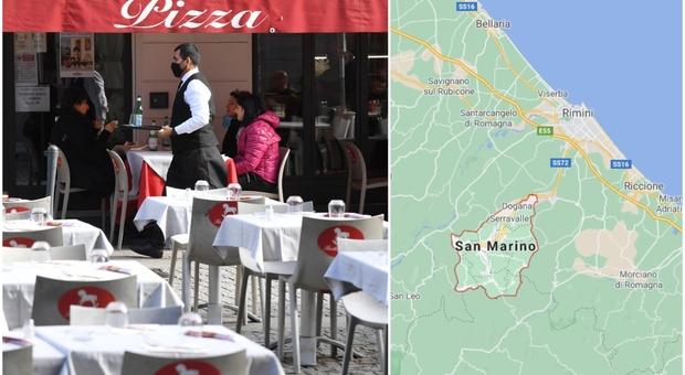 Dpcm, San Marino fa di testa sua: bar e ristoranti aperti dopo le 18: «Qui non serve chiudere»
