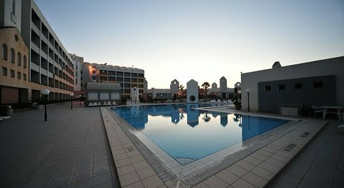 L'hotel di Malta che ospita i ragazzi viterbesi