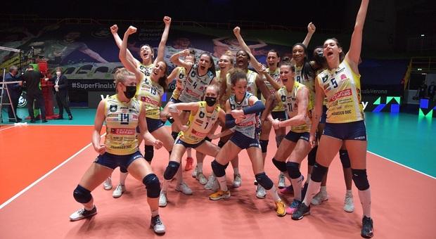 Champions, la prima volta di Conegliano con super Egonu. Trento sconfitta dai polacchi di Grbic