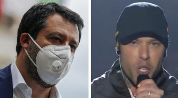 Concertone, Salvini risponde a Fedez: «Beviamoci un caffè e parliamo di diritti»