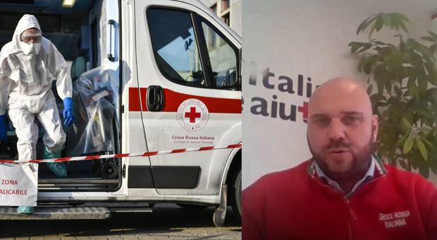 Coronavirus, Ronzi (Croce Rossa): «E' il momento del sacrificio, non serve lamentarsi»